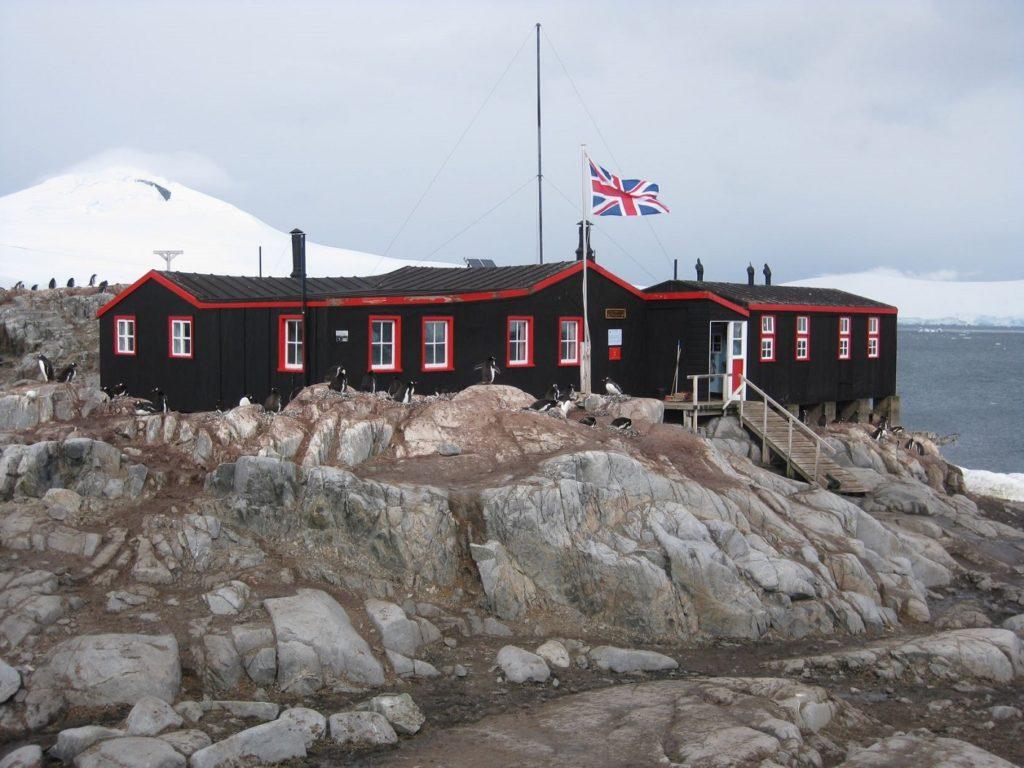 Base at Port Lockroy