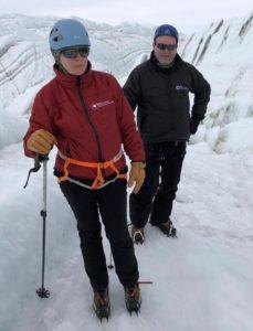 Jane Rumble in Antarctica
