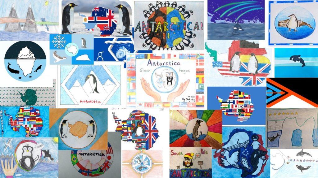 UKPN Antarctic Flags - Flag designs.